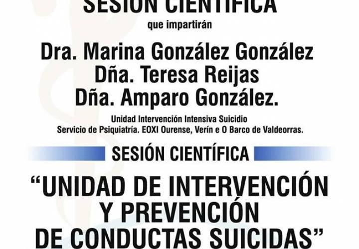"""Sesión AMQ: """"Unidad de Intervención y Prevención de Conductas Suicidas"""""""
