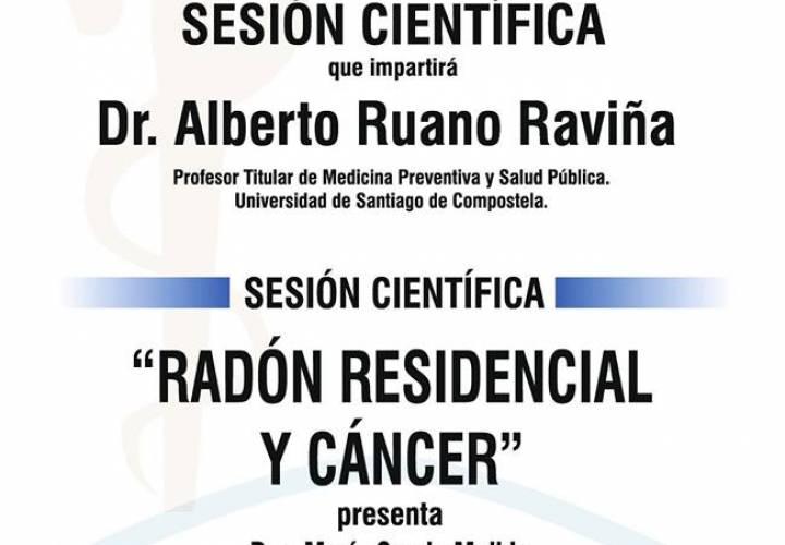"Sesión AMQ: ""Radón Residencial y Cáncer"""