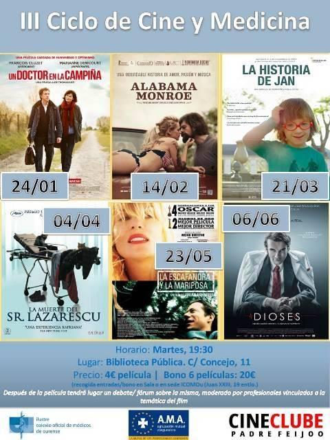 III Ciclo de Cine y Medicina