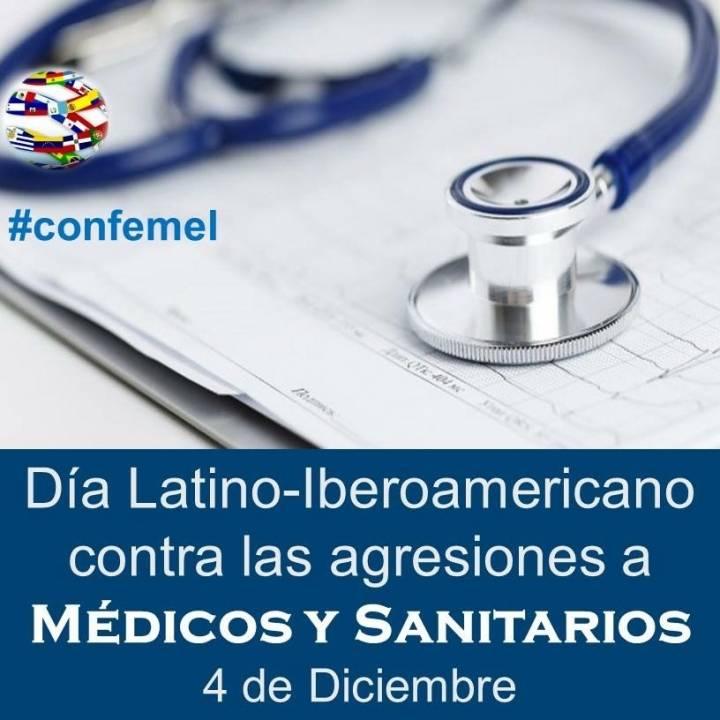 Día Latinoiberoamericano contra las agresiones a médicos y sanitarios #confemel
