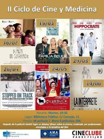 II Ciclo de Cine y Medicina