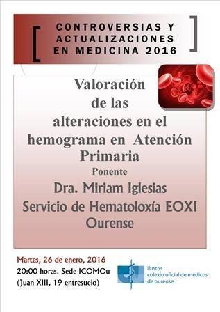 Valoración de las alteraciones en el hemograma en Atención Primaria