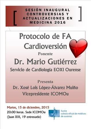 Sesión Inaugural Controversias y Actualizaciones en Medicina 2016: