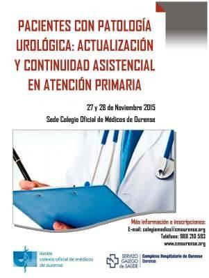 Curso: Pacientes con Patología Urológica: Actualización y Continuidad Asistencial en Atención Primaria