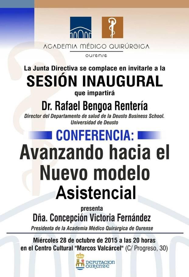 Sesión Inaugural AMQ: Avanzando hacia el Nuevo modelo Asistencial