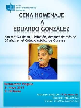 Cena homenaje a Eduardo González