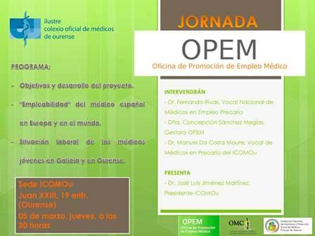 Jornada OPEM (Oficina de Promoción de Empleo Médico)