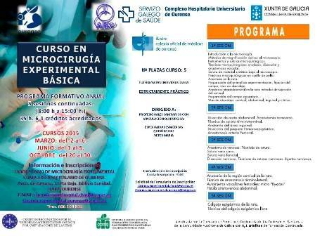 Curso en Microcirugía Experimental Básica