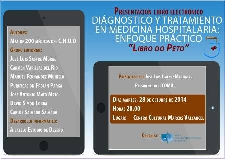 Presentación del Libro Electrónico: Diagnóstico y Tratamiento en Medicina Hospitalaria: Enfoque Práctico. ?Libro do Peto?