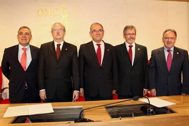 Los doctores Serafín Romero y Juan Manuel Garrote, nuevos vicepresidente y secretario general del CGCOM