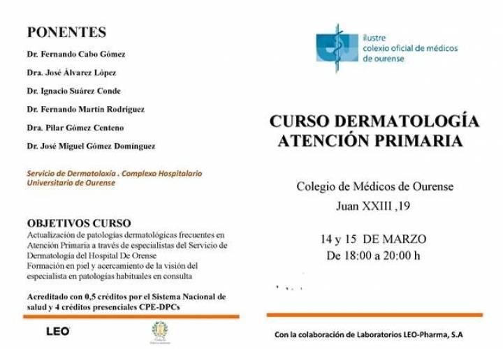Curso de Dermatología para Atención Primaria