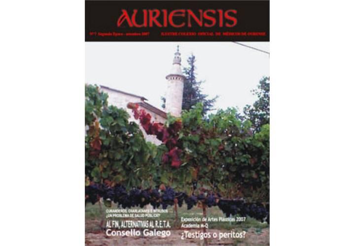 AURIENSIS Nº 7 Segunda Época - Setembro- 2007
