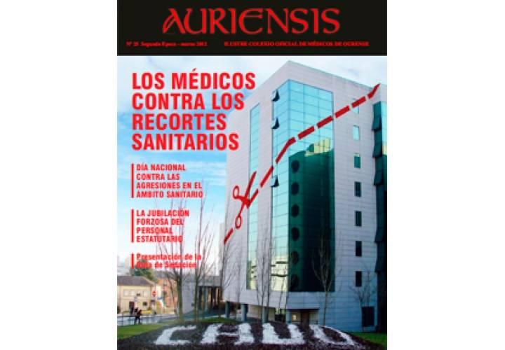 AURIENSIS Nº25 Los médicos contra los recortes sanitarios
