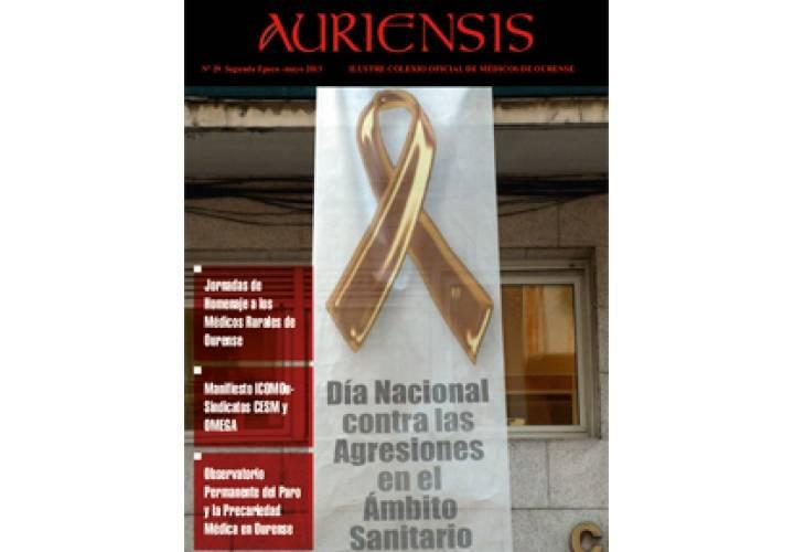 AURIENSIS Nº29 Iluste Colexio Oficial de Médicos de Ourense