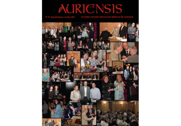AURIENSIS Nº30 Iluste Colexio Oficial de Médicos de Ourense