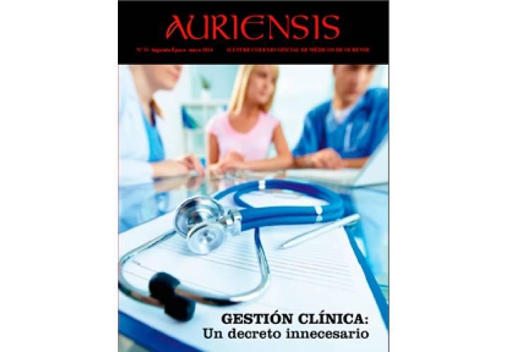 AURIENSIS Nº31 Ilustre Colexio Oficial de Médicos de Ourense