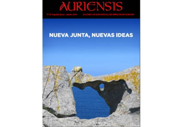 AURIENSIS Nº32 Ilustre Colexio Oficial de Médicos de Ourense