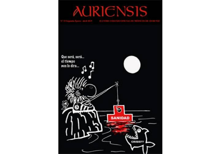 AURIENSIS Nº33 Ilustre Colexio Oficial de Médicos de Ourense