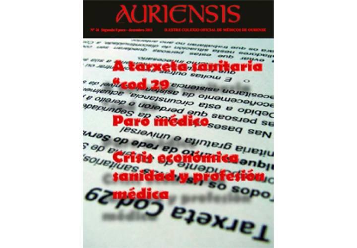 AURIENSIS Nº24 A tarxeta sanitaria cod 29