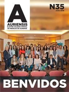 AURIENSIS Nº35 Ilustre Colexio Oficial de Médicos de Ourense
