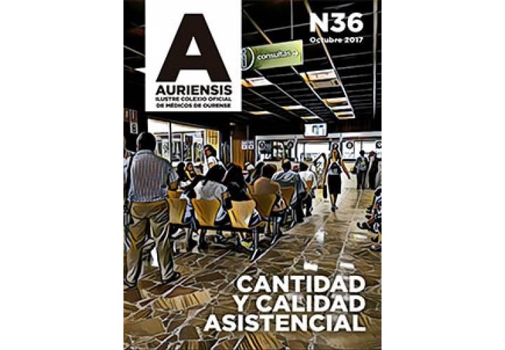 AURIENSIS Nº36 Ilustre Colexio Oficial de Médicos de Ourense