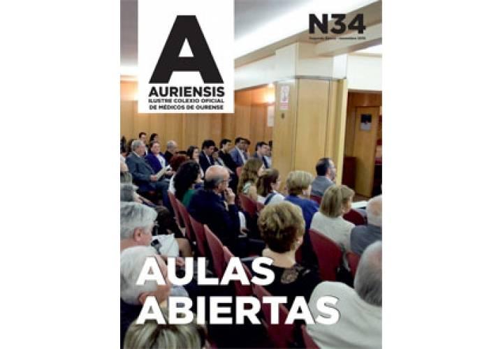 AURIENSIS Nº34 Ilustre Colexio Oficial de Médicos de Ourense
