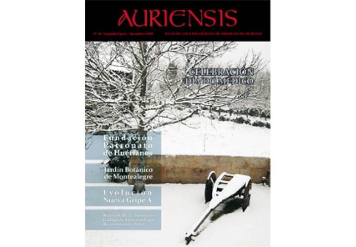AURIENSIS Nº 16 Segunda Época - Decembro - 2009