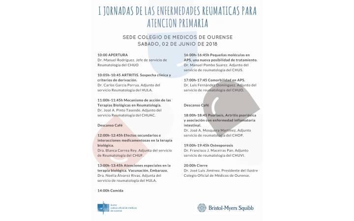 I JORNADAS DE LAS ENFERMEDADES REUMATICAS PARA ATENCION PRIMARIA