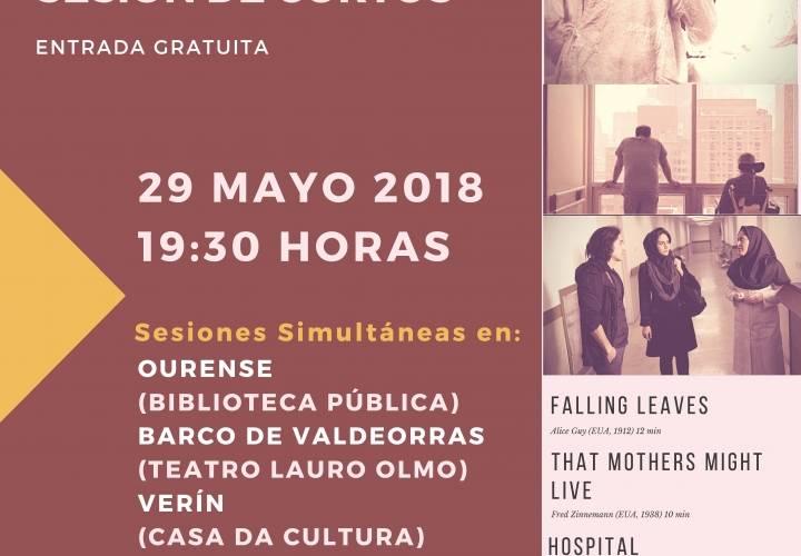 """IV Ciclo de Cine y Medicina:""""Sesión de Cortos"""""""