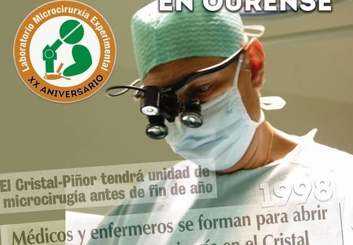 XX Aniversario Laboratorio Microcirugía Experimental de Ourense
