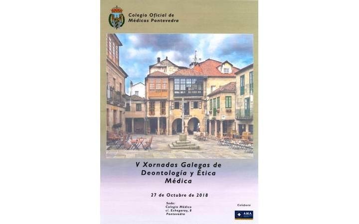 V Xornadas Galegas de Deontoloxía e Ética Médica