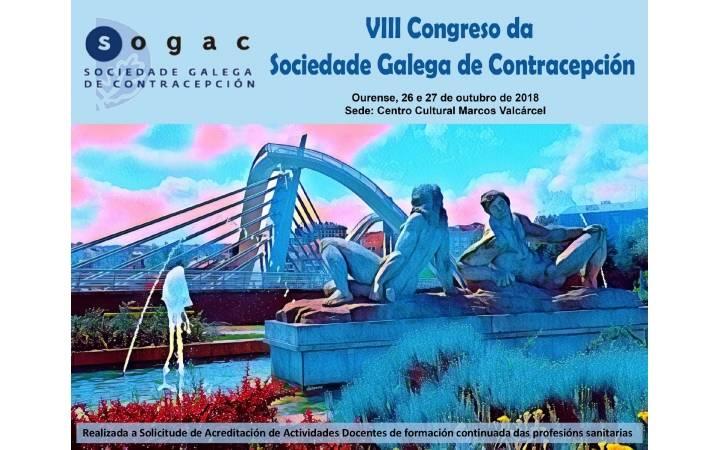 VIII Congreso da Sociedade Galega de Contracepción (SOGAC)