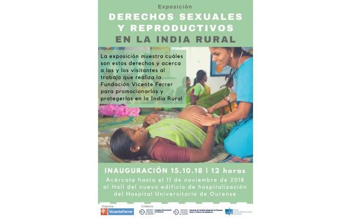 Dereitos en Saúde Sexual e Reprodutiva na India RuralINVITACIÓN EXPOSICIÓN DE FOTOGRAFÍA FUNDACIÓN VICENTE FERRER