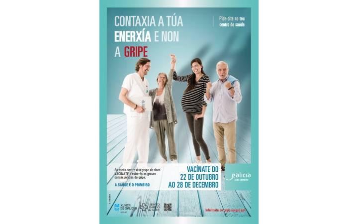 Vacínate: o Colexio de Médicos de Ourense recoméndacho