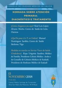 Jornada sobre Atención Primaria: Diagnóstico y Tratamiento