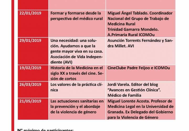 CURSO DE CONOCIMIENTO Y TRANSVERSALIDAD EN MEDICINA 2019