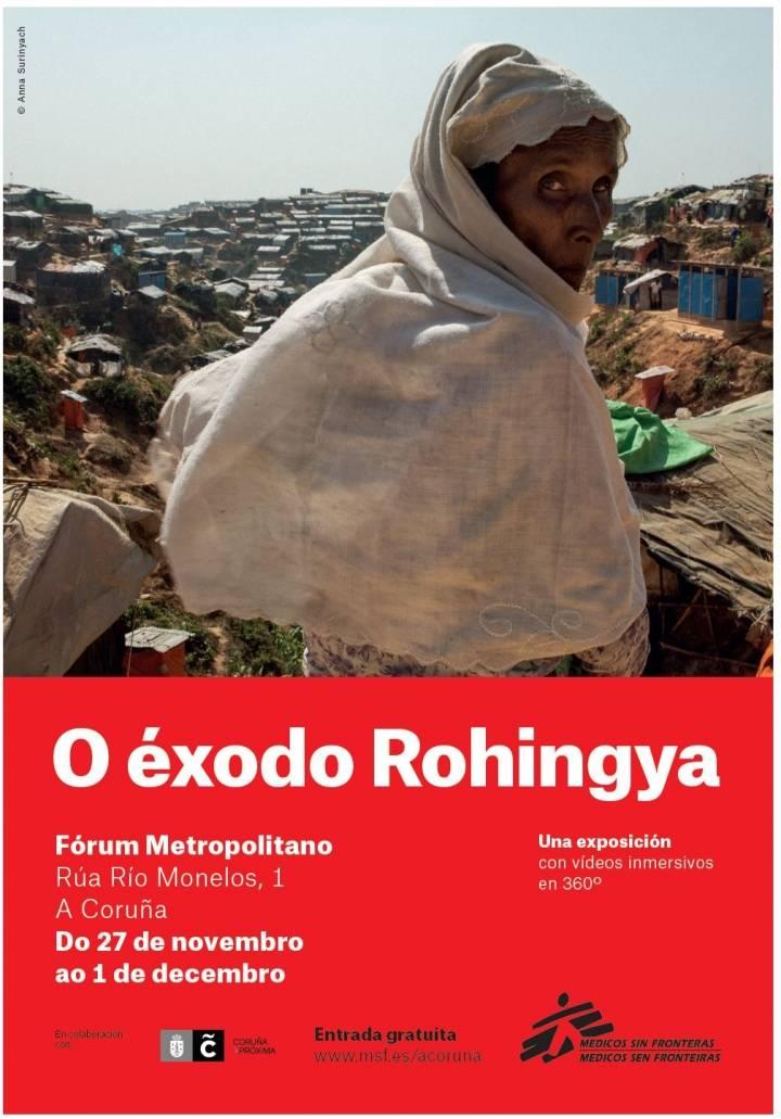 Exposición Éxodo de Rohingya