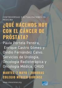 ¿Qué hacemos hoy con el Cáncer de Próstata?