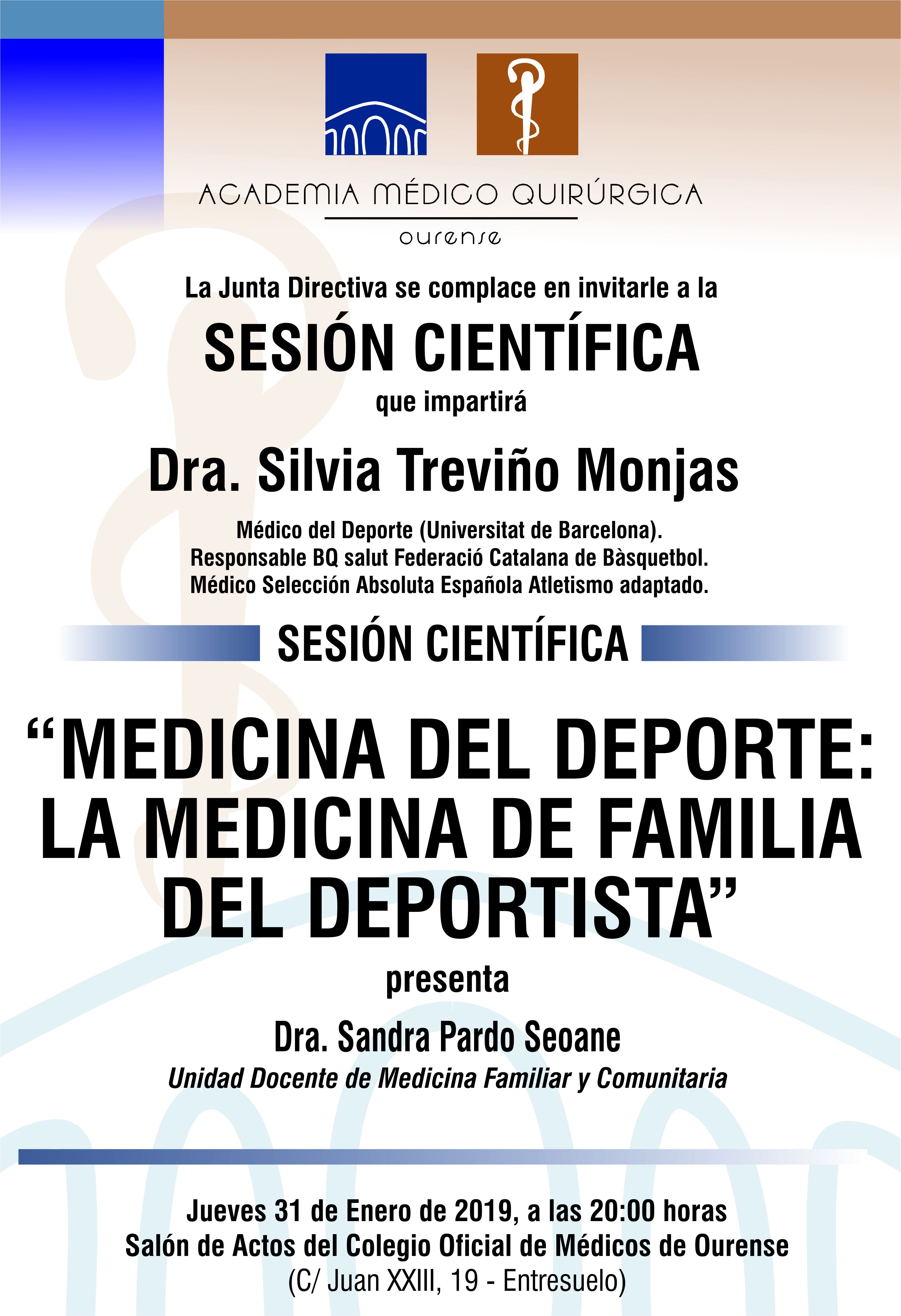 Sesión AMQ: Medicina del Deporte: La Medicina de Familia del Deportista