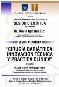 Sesión AMQ: Cirugía Bariátrica Innovación técnica y práctica clínica