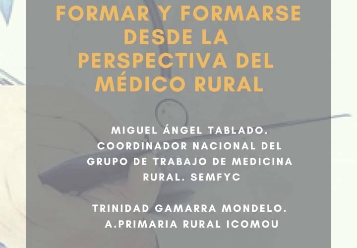 Formar y formarse desde la perspectiva del médico rural