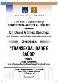 Sesión AMQ: Transexualidade e Saúde