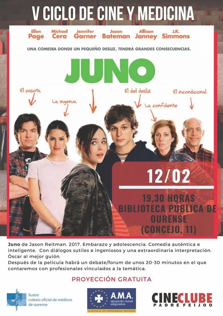 V Ciclo de Cine y Medicina: Juno