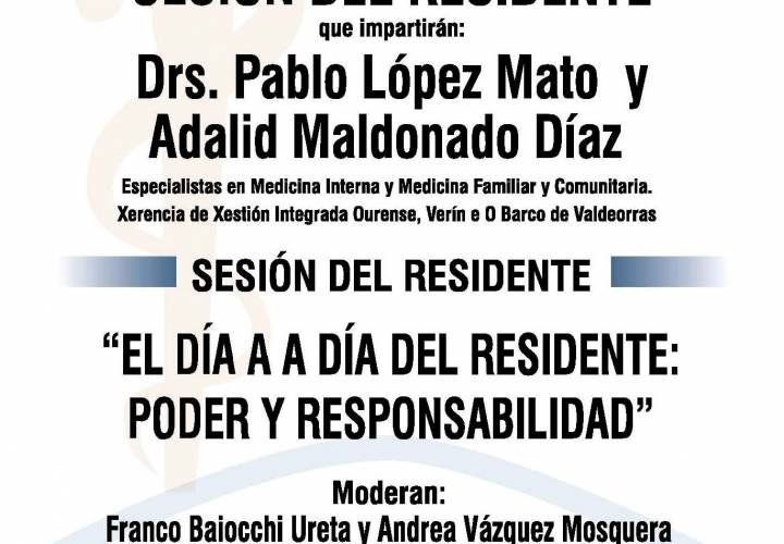 Sesión AMQ: El día a día del residente: poder y responsabilidad