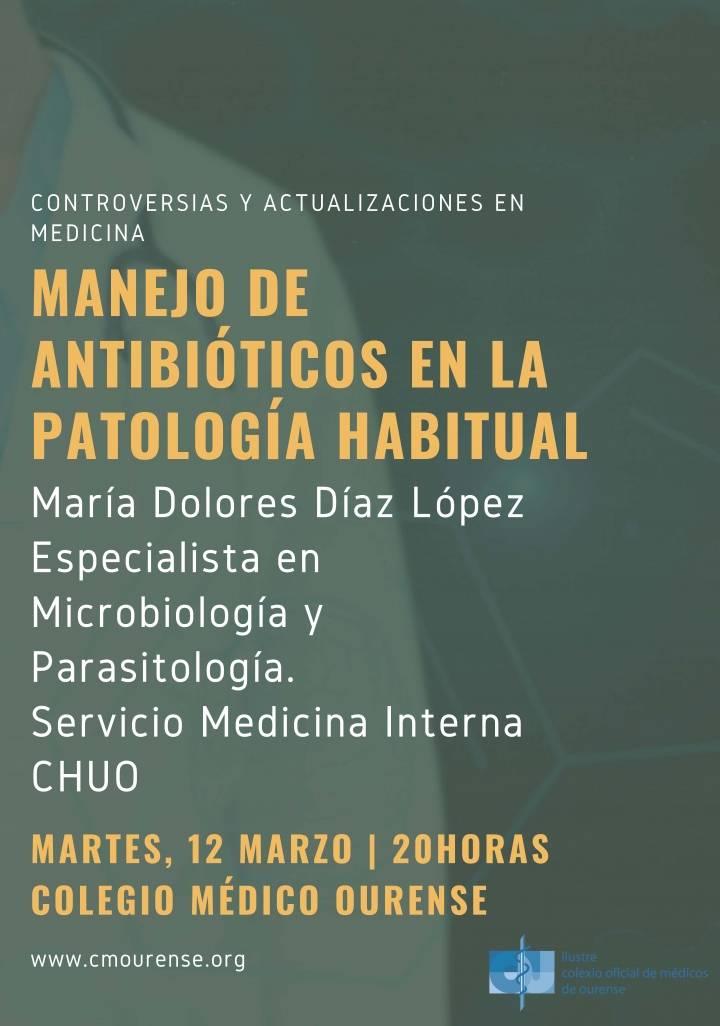 Manejo de antibióticos en la Patología Habitual