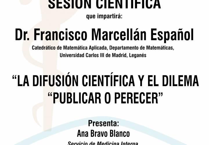 """Sesión AMQ: La difusión científica y el dilema: """"publicar o perecer"""""""