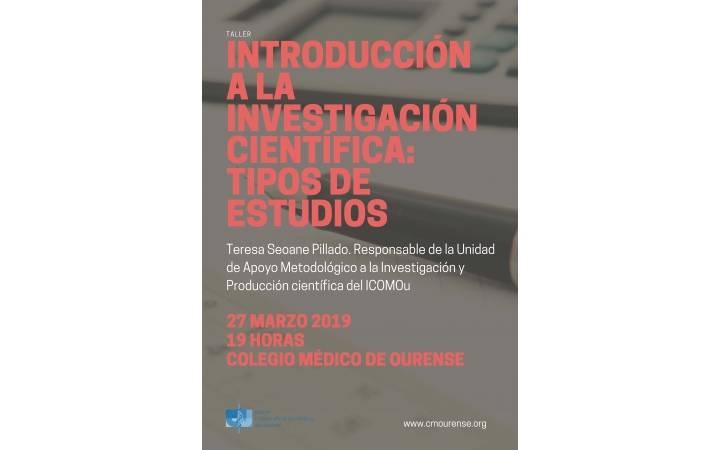 INTRODUCCIÓN A LA INVESTIGACIÓN CIENTÍFICA: TIPOS DE ESTUDIOS