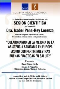 Sesión AMQ: Colaborando en la asistencia sanitaria en Ourense ¿cómo compartir nuestras buenas prácticas en salud?