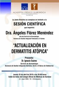 Sesión AMQ: Actualización en Dermatitis Atópica