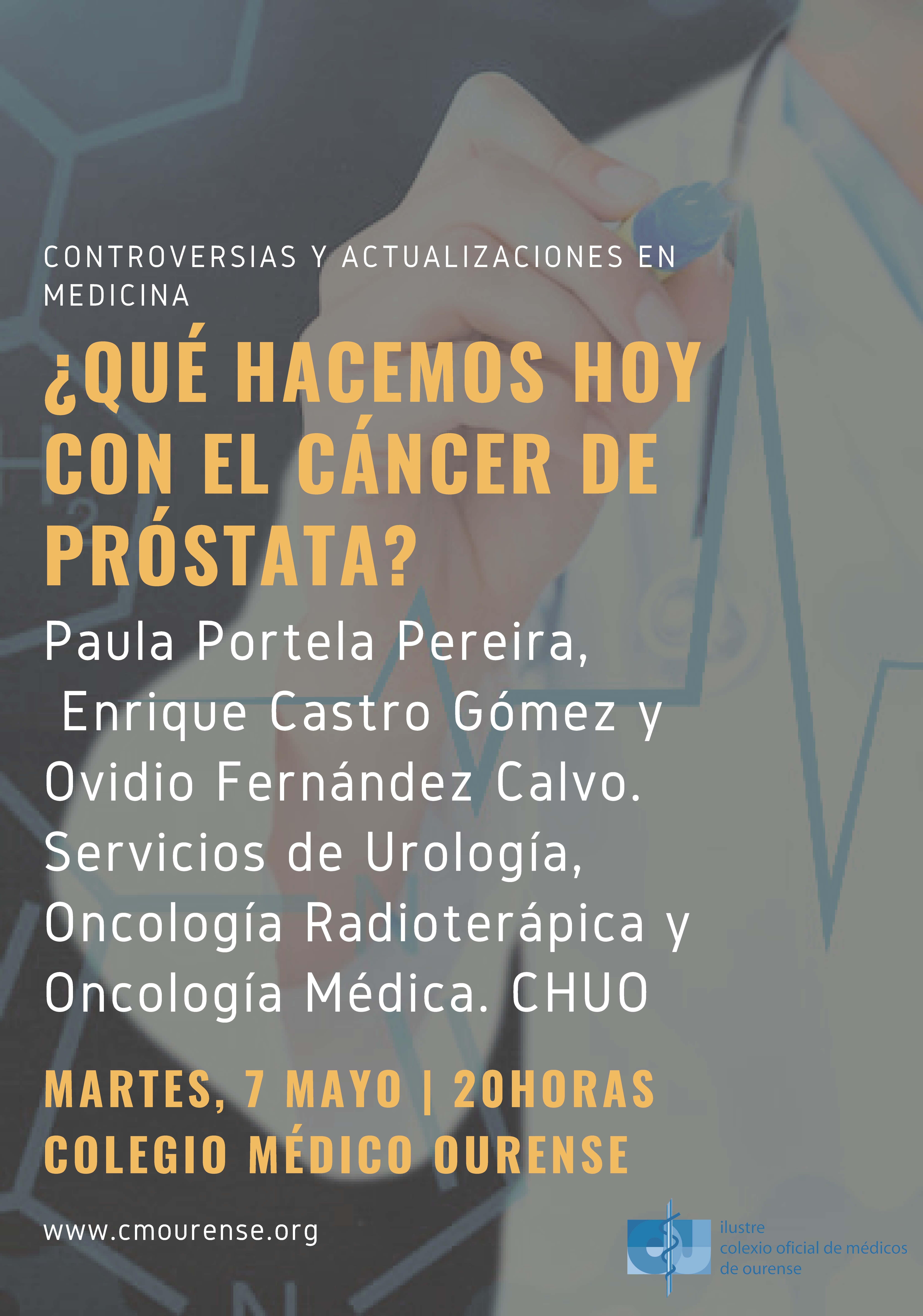 médico para el cáncer de próstata